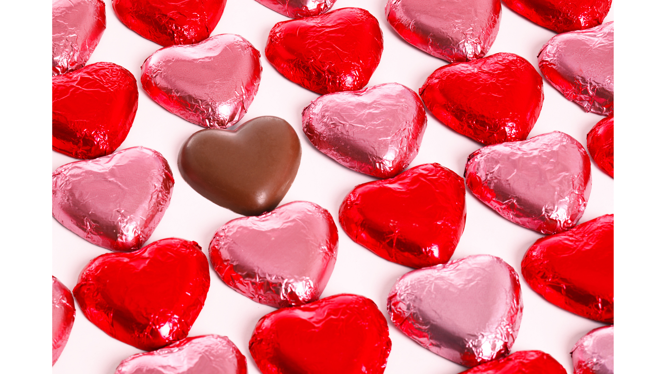 chocolate candy hearts