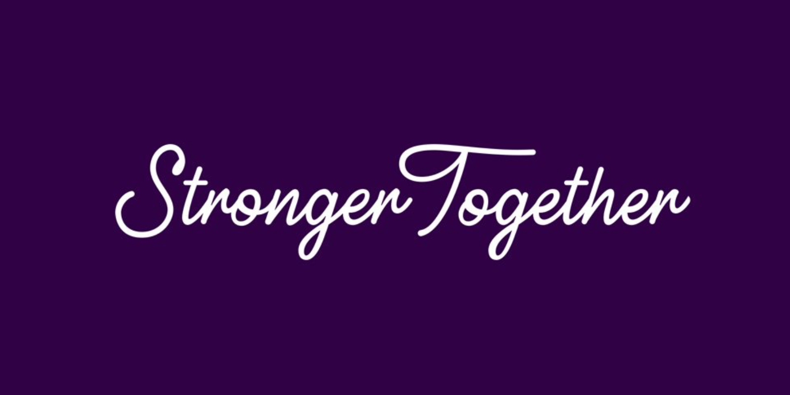 Stronger Together - Sahoja