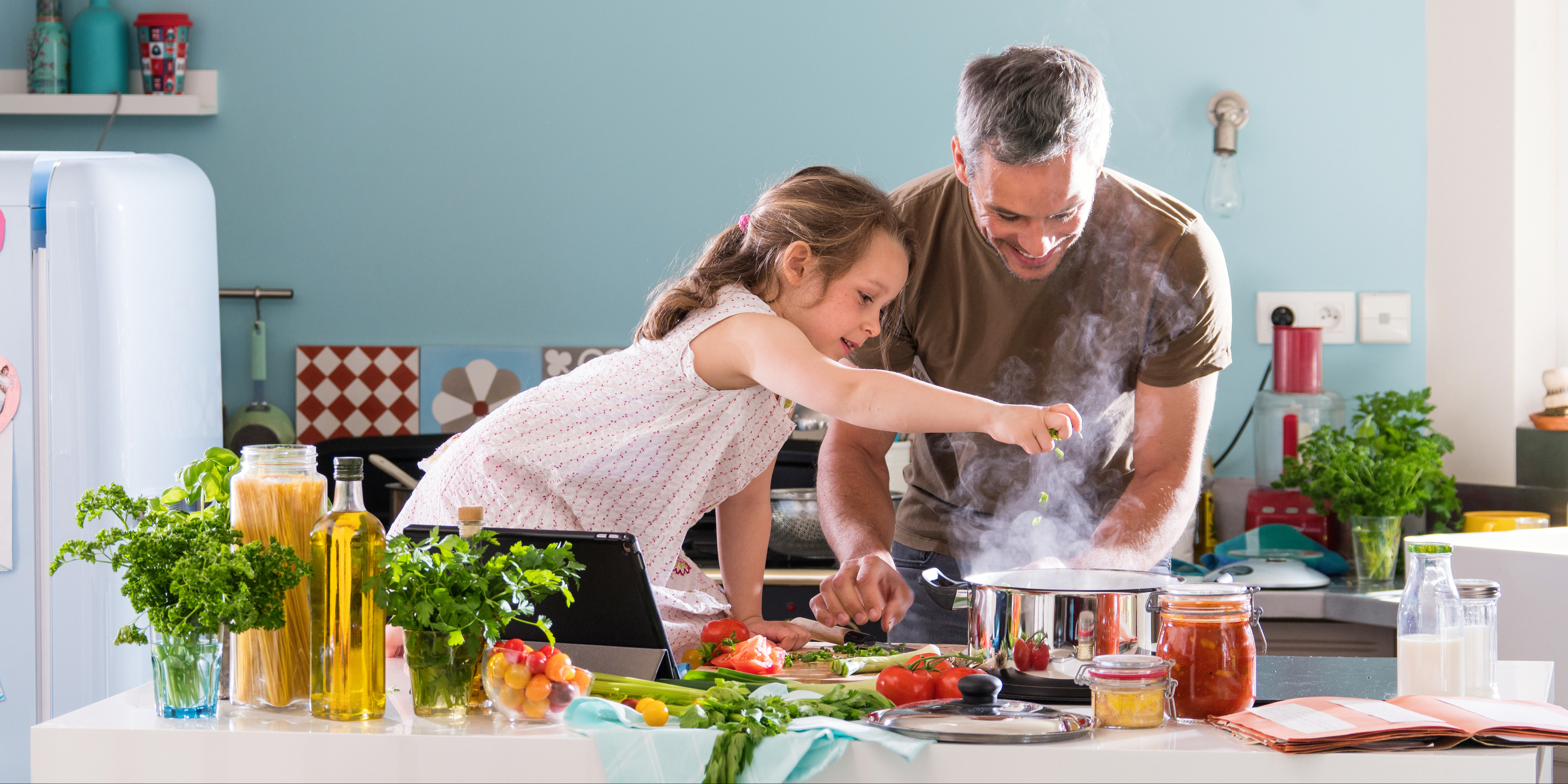 Learning to Cook at home
